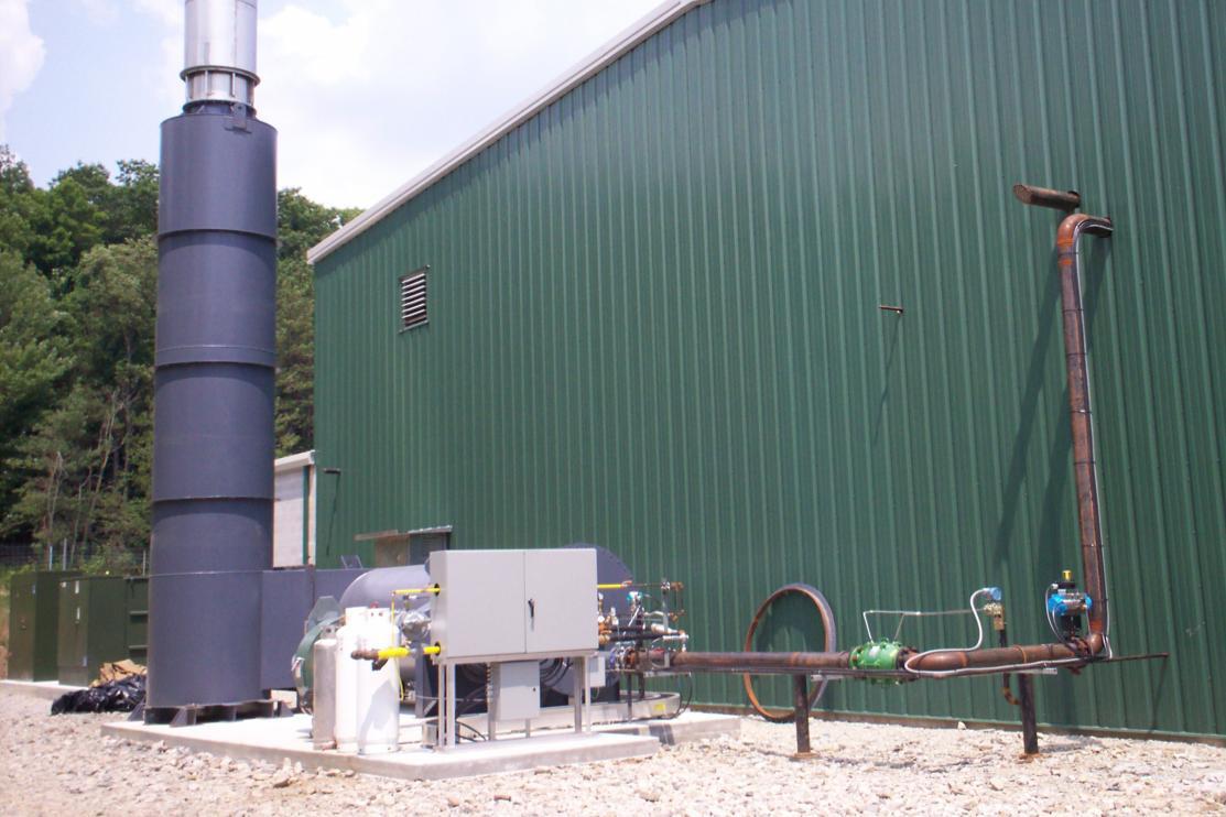 Landfill Waste Gas Abatement