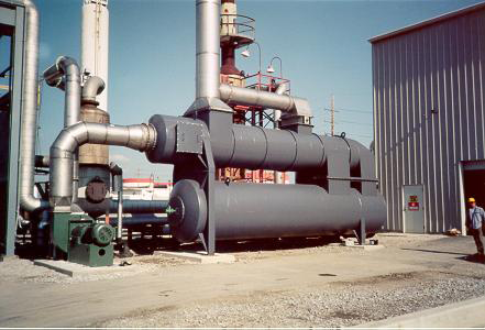 QUADRANT SR Thermal Oxidizer & the Chemical Industry