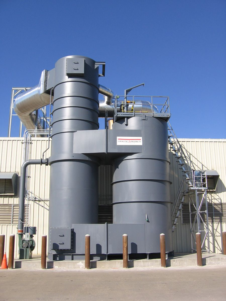 Can Coater Chooses the Quadrant SR Thermal Oxidizer